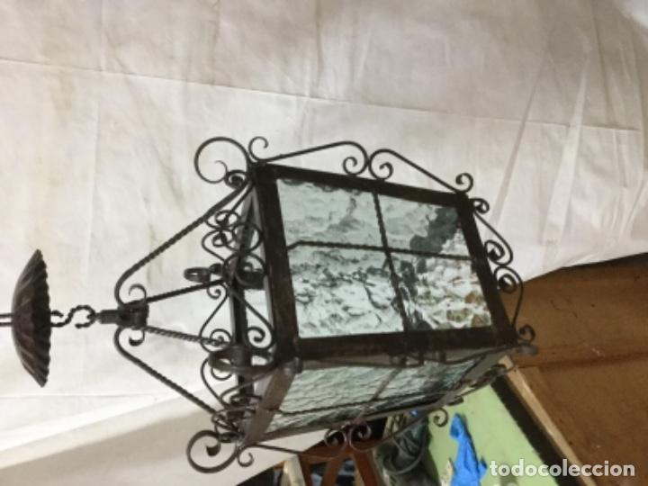 Antigüedades: Farol forja - Foto 5 - 131213160