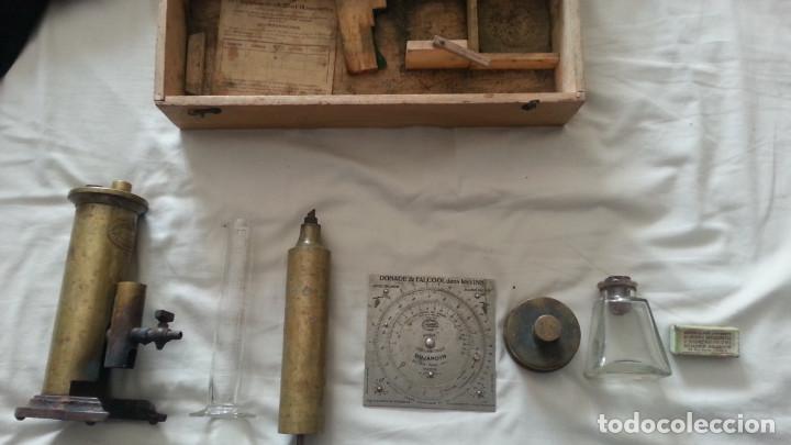 Antiquitäten: IMPRESIONANTE EQUIPO DE ANALITICA DE VINO. SIGLO XIX O PPIOS XX. DUJARDIN SALLERON - PARIS. - Foto 10 - 133532022