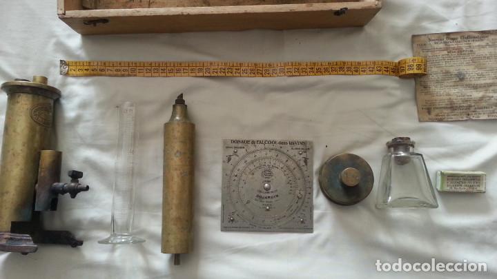 Antiquitäten: IMPRESIONANTE EQUIPO DE ANALITICA DE VINO. SIGLO XIX O PPIOS XX. DUJARDIN SALLERON - PARIS. - Foto 12 - 133532022