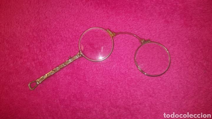 Antigüedades: GAFAS PLEGABLES ANTIGUAS - Foto 2 - 131441473