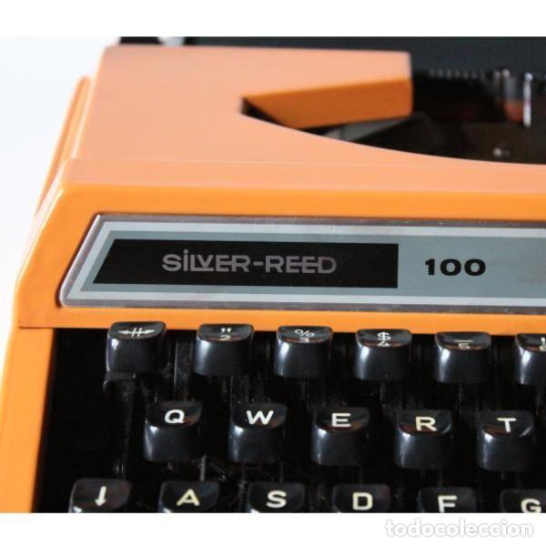 Antigüedades: Máquina de escribir Silver Red 100 - Foto 2 - 131447942