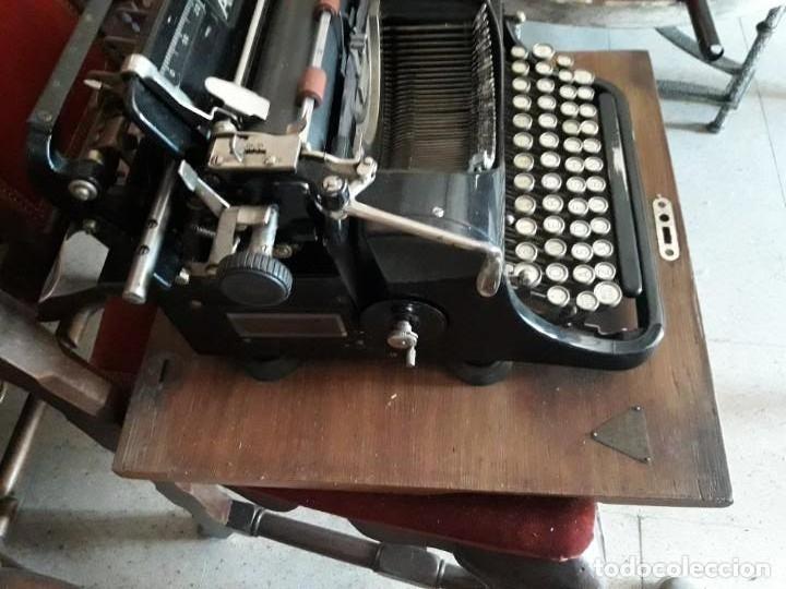 Antigüedades: Máquina escribir AEG - Foto 4 - 131492610