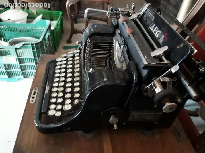 Antigüedades: Máquina escribir AEG - Foto 5 - 131492610