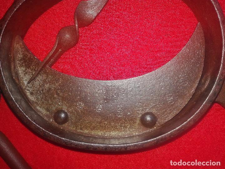 Antigüedades: romana de trapero.Original siglo XIX - Foto 5 - 131502498