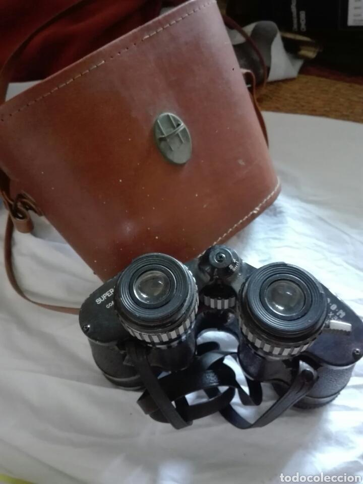 PRISMATICOS SUPER ZENITH ZOOM 6X-12X30 - CON ESTUCHE Y CORREAS - VER FOTO - AÑOS 50 (Antigüedades - Técnicas - Instrumentos Ópticos - Prismáticos Antiguos)