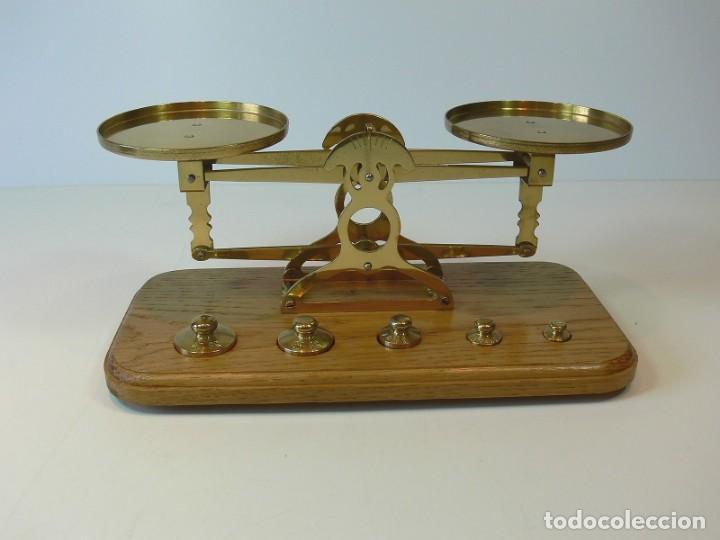 BALANZA PESACARTAS (Antigüedades - Técnicas - Medidas de Peso - Balanzas Antiguas)