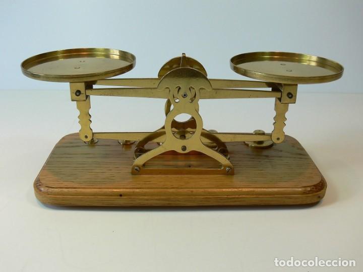 Antigüedades: balanza pesacartas - Foto 4 - 131513838