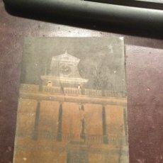 Antigüedades: PLANCHA IMPRENTA. VALENCIA UNIVERSIDAD.ZINC. Lote 131528175