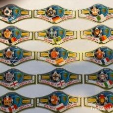 Antigüedades: ESPAÑA FIFA 82, 25 VITOLAS DE TABACOS FABRICA TENERIFE.. Lote 131562230