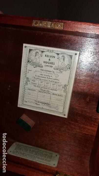 Antigüedades: Sextante antiguo made in gran bretaña - Foto 12 - 131666186