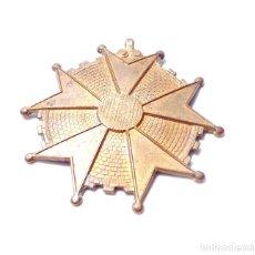 Antigüedades: MEDALLA SIN TERMINAR. BENEMERITO POR LA PATRIA. Lote 131874170