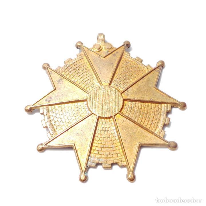 Antigüedades: MEDALLA SIN TERMINAR. BENEMERITO POR LA PATRIA - Foto 3 - 131874170