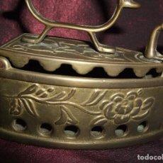 Antigüedades: PRECIOSA ANTIGUA PLANCHA DE BRONCE , LABRADA.. Lote 68214521