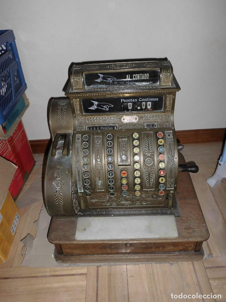 CAJA REGISTRADORA MODELO NATIONAL (Antigüedades - Técnicas - Aparatos de Cálculo - Cajas Registradoras Antiguas)