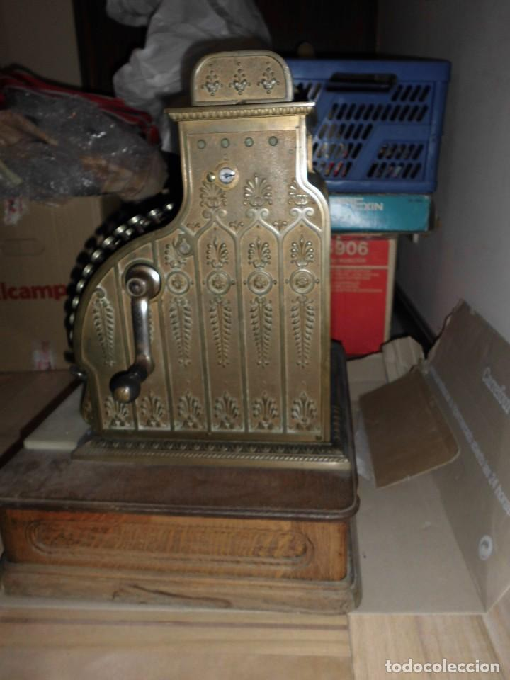 Antigüedades: Caja Registradora Modelo National - Foto 2 - 131894826