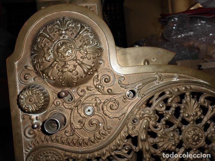 Antigüedades: Caja Registradora Modelo National - Foto 3 - 131894826