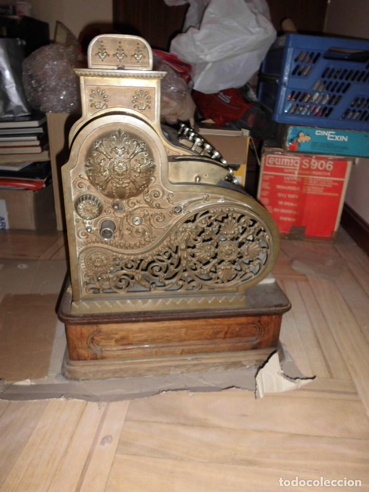 Antigüedades: Caja Registradora Modelo National - Foto 4 - 131894826