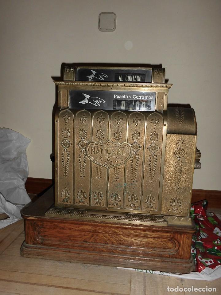 Antigüedades: Caja Registradora Modelo National - Foto 5 - 131894826