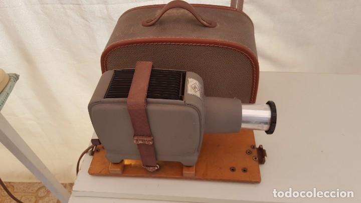 Antigüedades: Proyector de diapositivos Agfa Opticus 100 - Foto 2 - 131948906