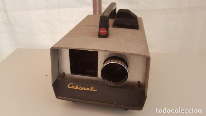 Antigüedades: Proyector de diapositivos Cabinat Sunlit - Foto 2 - 131949078