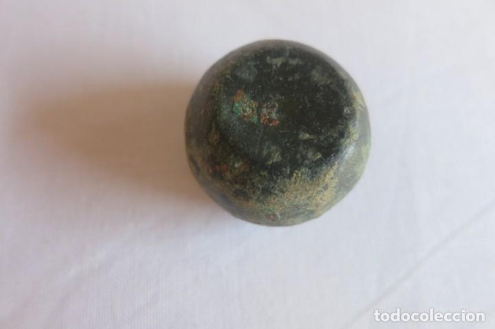Antigüedades: ponderal de bronce romano - Foto 3 - 131977318