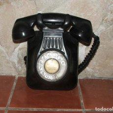 Telefone - telefono pared antiguo negro baquelita años 50 - 131985250