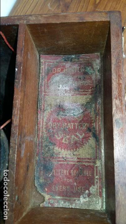 Antigüedades: APARATO DE TERAPIA ELECTRICA R. CH. HELLER. S. XIX - Foto 3 - 131996242