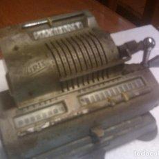 Antigüedades: ANTIGUA MAQUINA DE CALCULAR MARCA IRIS. Lote 132045202