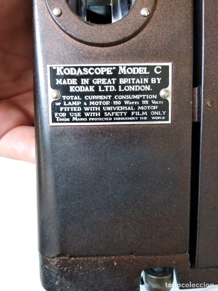 Antigüedades: kodascope model c, prácticamente nuevo - Foto 20 - 132063855