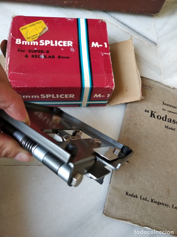 Antigüedades: kodascope model c, prácticamente nuevo - Foto 28 - 132063855