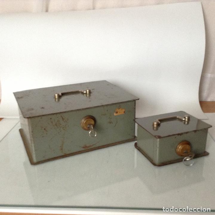 ANTIGUAS CAJAS DE CAUDALES (Antigüedades - Técnicas - Aparatos de Cálculo - Cajas Registradoras Antiguas)