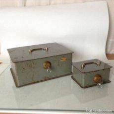 Antigüedades: ANTIGUAS CAJAS DE CAUDALES. Lote 132098634