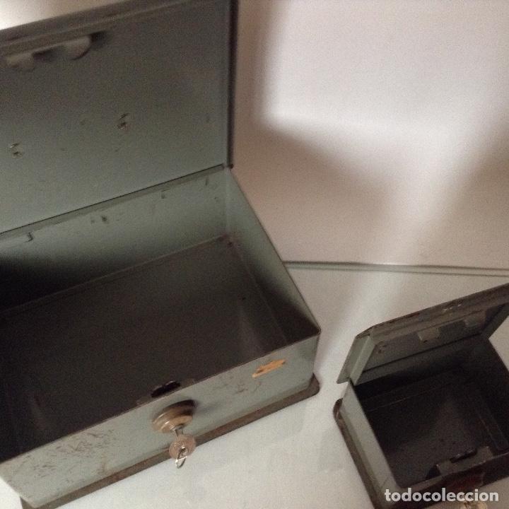 Antigüedades: Antiguas cajas de caudales - Foto 2 - 132098634