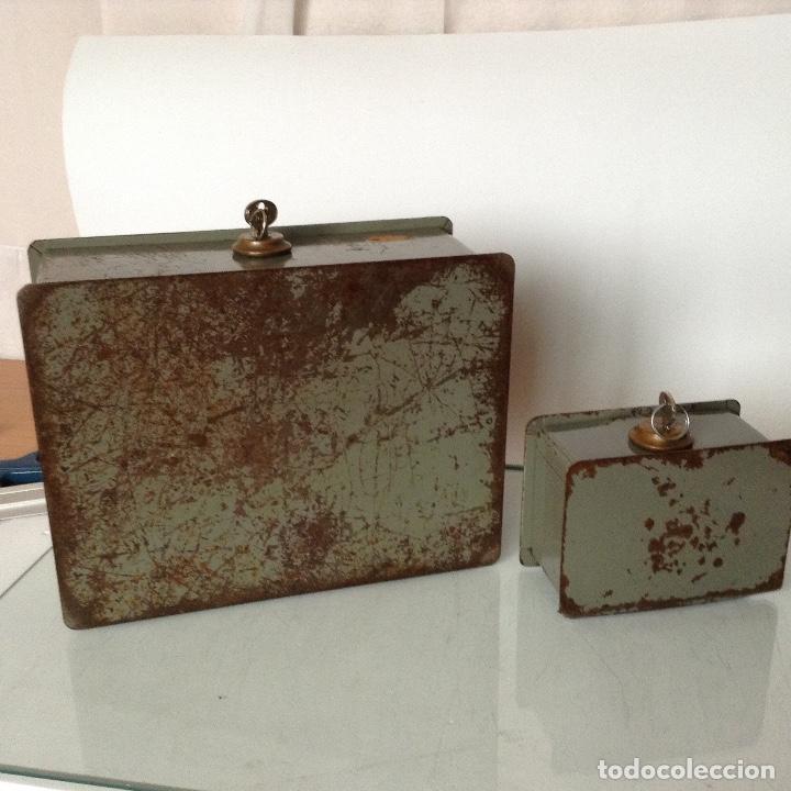 Antigüedades: Antiguas cajas de caudales - Foto 5 - 132098634