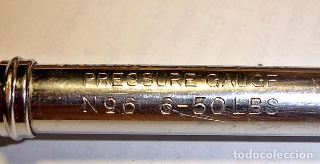 Antigüedades: Medidor presión neumáticos DUNLOP - Foto 2 - 132129902