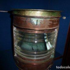 Antigüedades: ANTIGUO FAROL DE BARCO . Lote 132171098