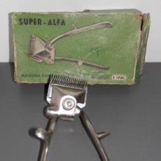 Antiquitäten - SUPER ALFA - MAQUINA DE CORTE DE PELO ANTIGUA - 132424898