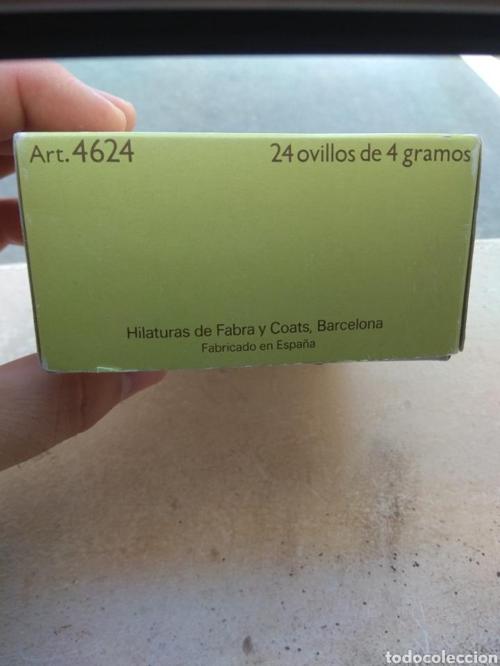 Antigüedades: Caja Ovillos Ancora - Vacía - Hilaturas Fabra y Coats - - Foto 4 - 132480686