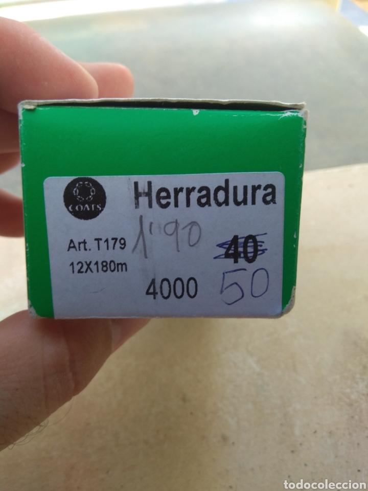 Antigüedades: Pareja Cajas Herradura - Fabra y Coats - Vacías - - Foto 3 - 132483714