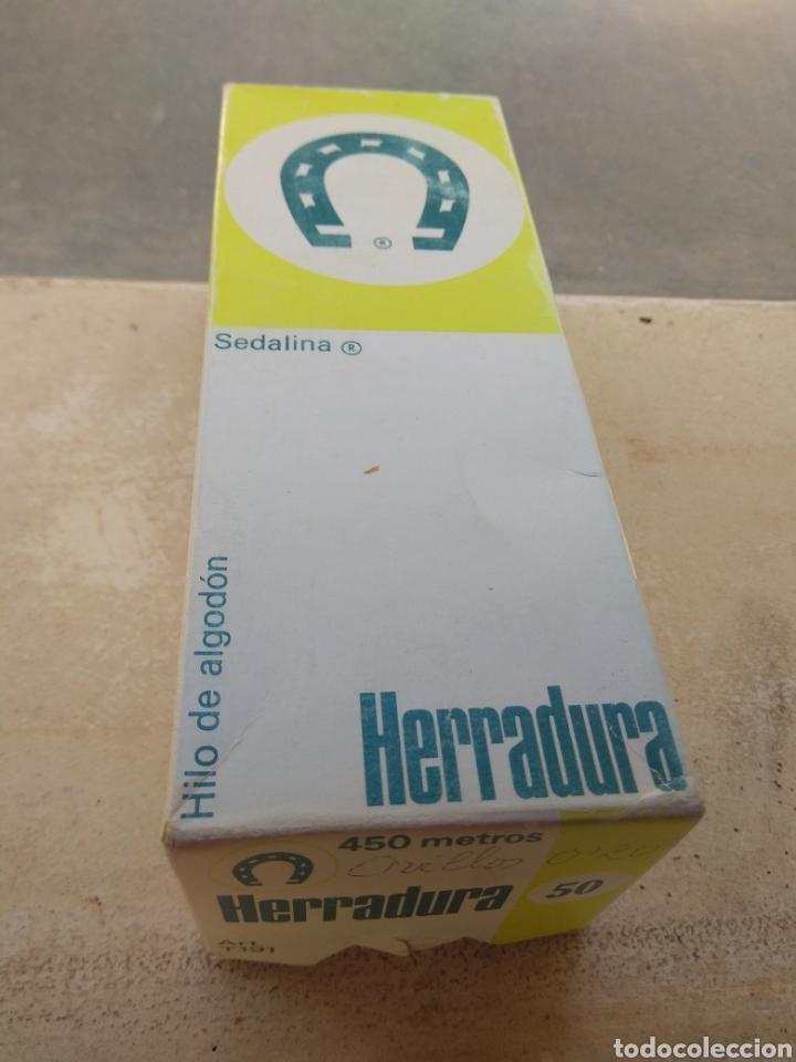 Antigüedades: Pareja Cajas Herradura - Fabra y Coats - Vacías - - Foto 7 - 132483714