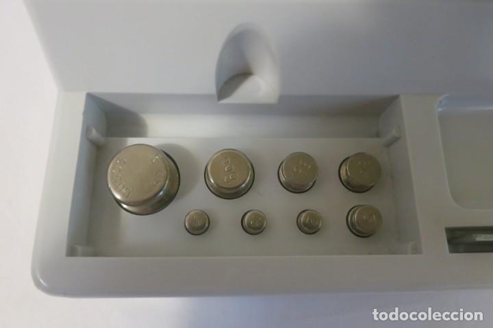 Antigüedades: Balanza de precision Cobos de 100 gramos - Foto 3 - 132562950