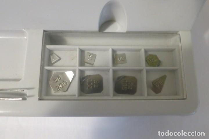 Antigüedades: Balanza de precision Cobos de 100 gramos - Foto 4 - 132562950
