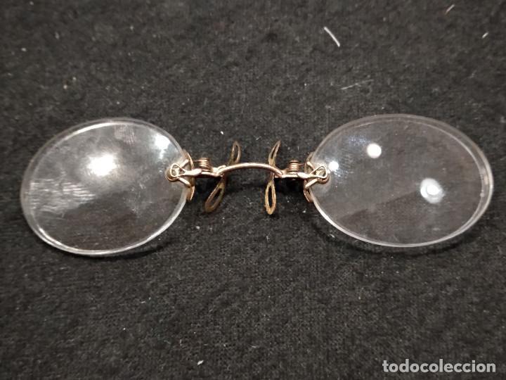 ANTIGUAS GAFAS DE PINZA (Antigüedades - Técnicas - Instrumentos Ópticos - Gafas Antiguas)