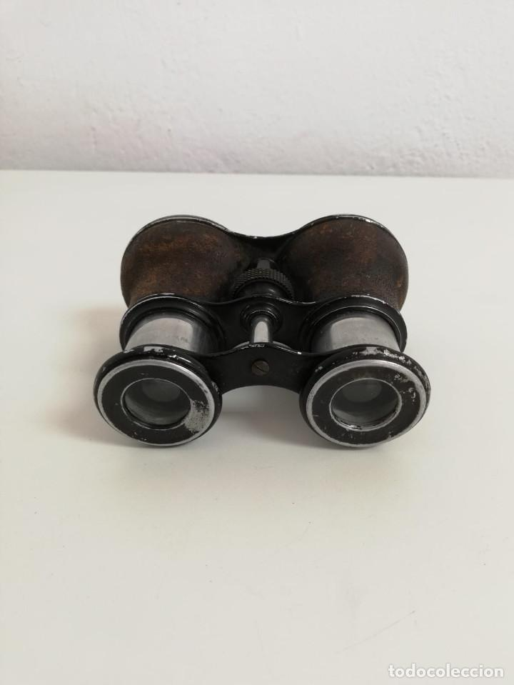 Antigüedades: Antiguos binoculares o prismáticos de opera Franceses - Foto 6 - 132595814