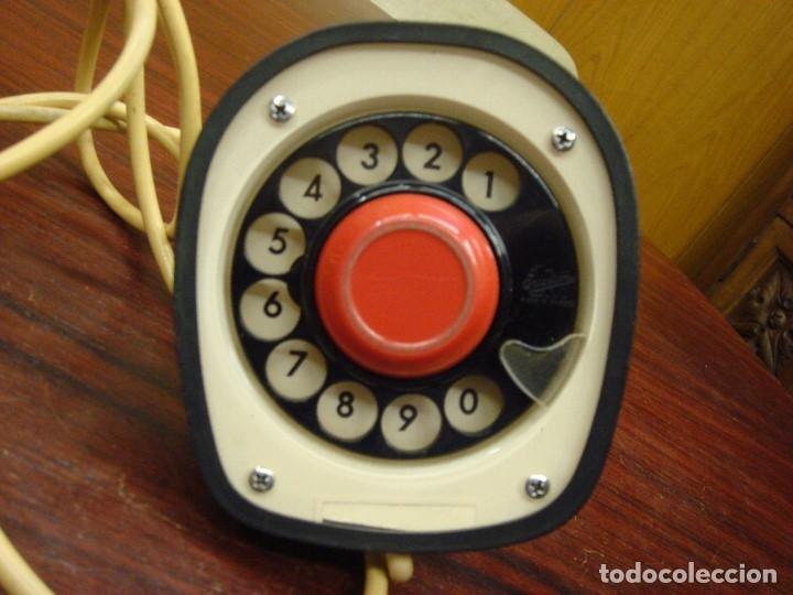 Teléfonos: TELEFONO ERICSON, ERICOFON, SERIE COBRA, Made Sweden, Año 1960, Rajado en bocina - Foto 3 - 32566642