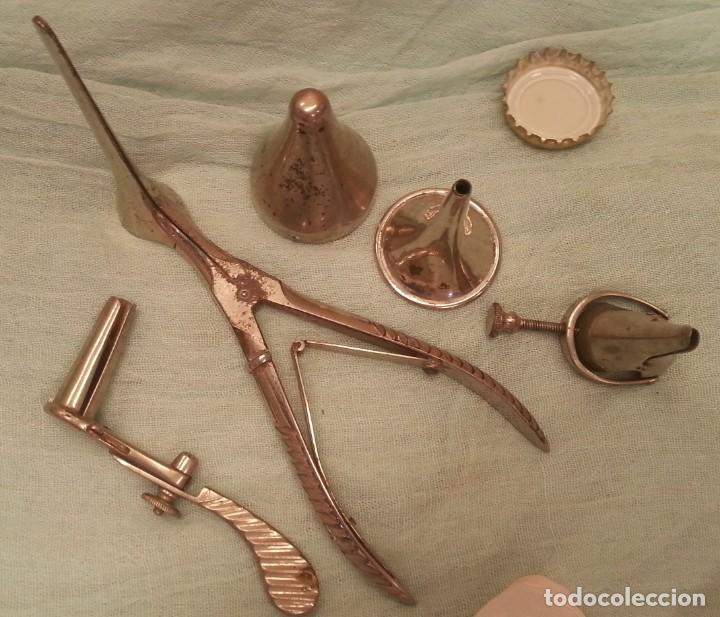 Antigüedades: Otoscopio. Conjunto instrumental médico. Año 80 - Foto 2 - 132642134
