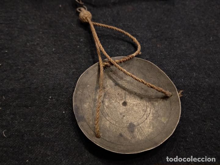 Antigüedades: ANTIGUA BALANZA PARA PESAR ORO - Foto 3 - 132761130