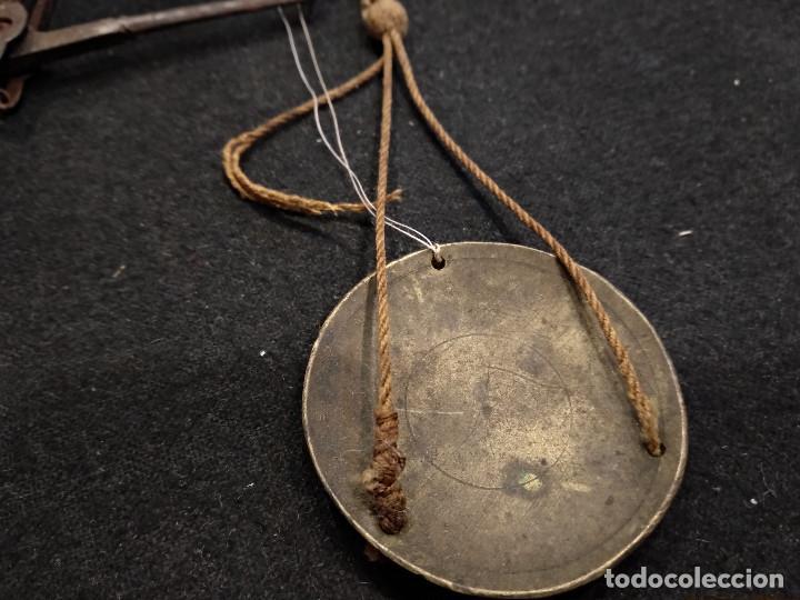 Antigüedades: ANTIGUA BALANZA PARA PESAR ORO - Foto 4 - 132761130