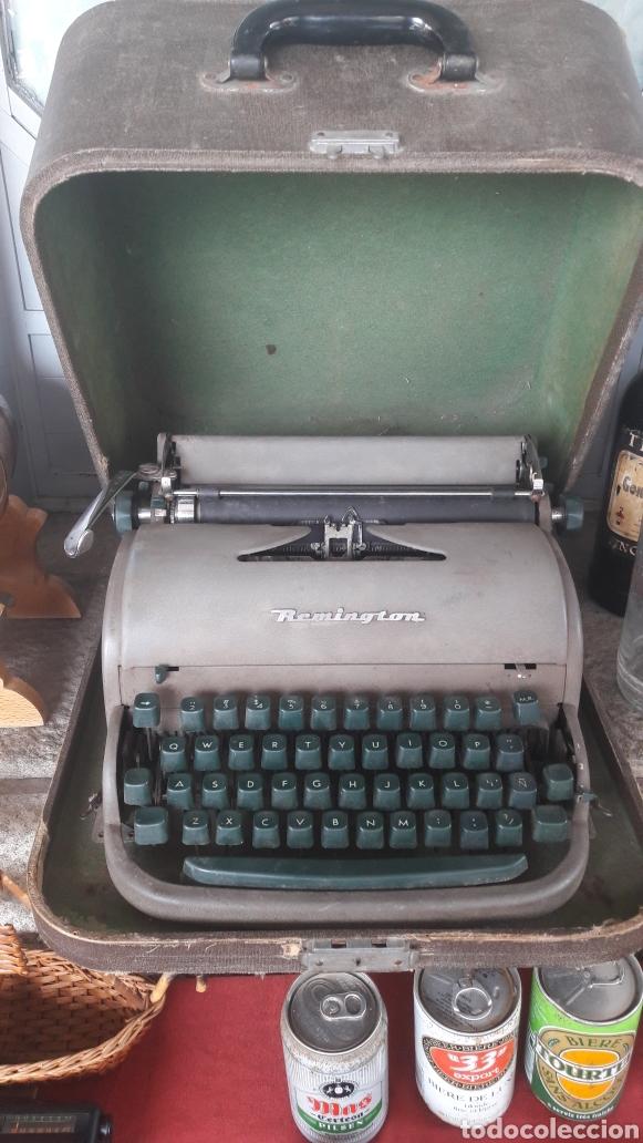 MAQUINA ESCRIBIR REMINGTON FUNCIONA (Antigüedades - Técnicas - Máquinas de Escribir Antiguas - Remington)