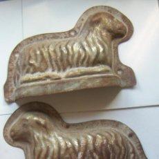 Antigüedades: MOLDE PASTELERIA CORDERO DE PASCUA TIPICO SEMANA SANTA. Lote 132812422